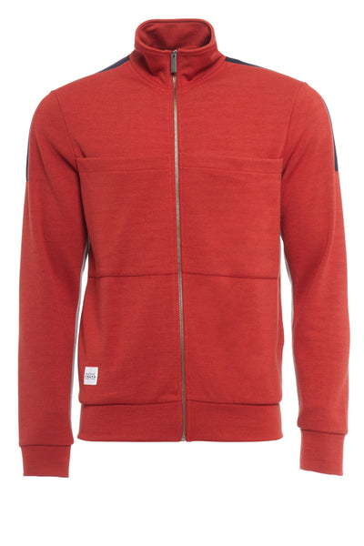 COACH TRACK TOP | RUST