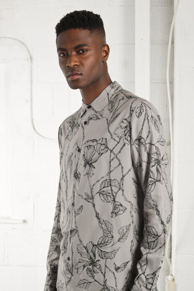 INTRICATE FLORAL SHIRT