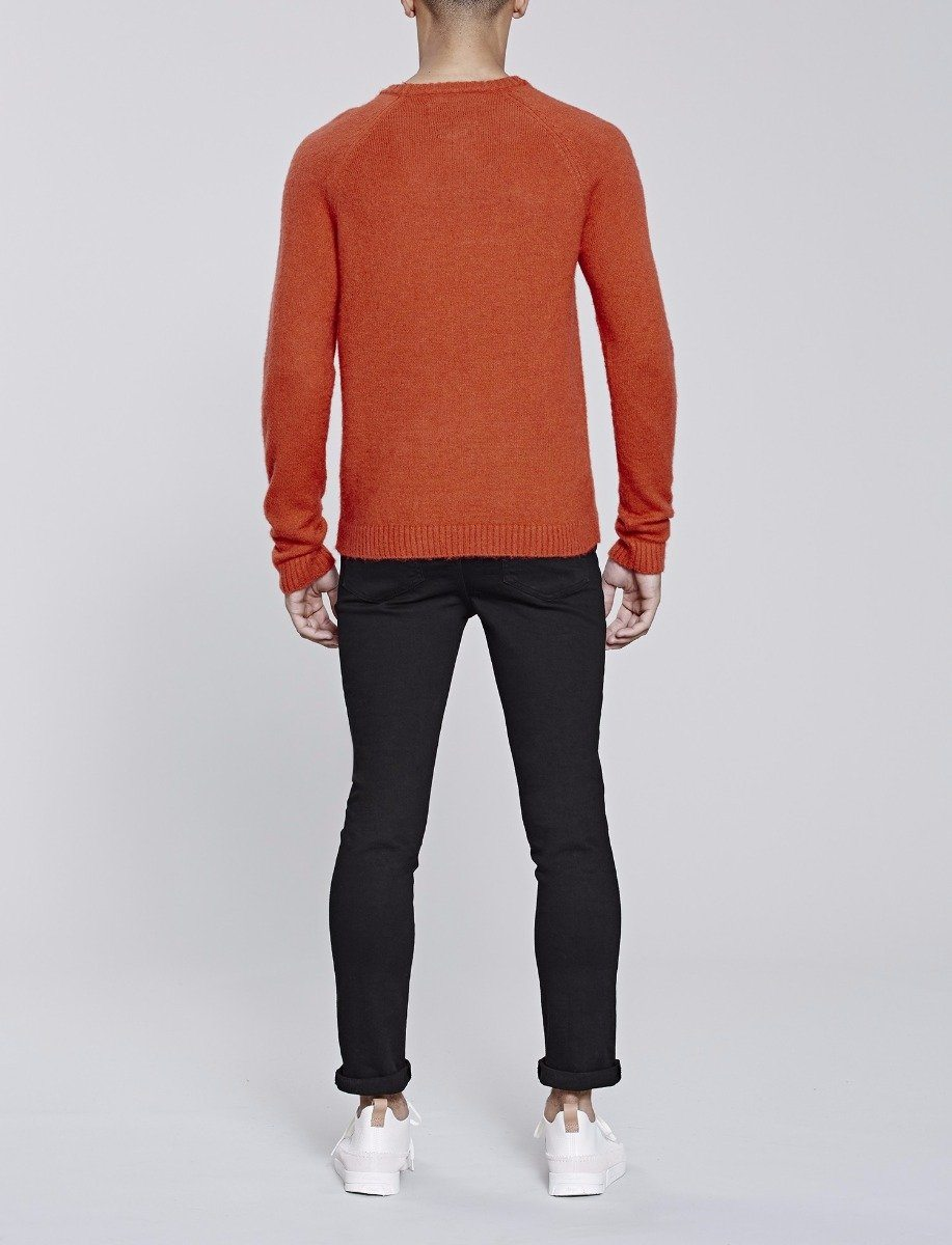Rust Altitude Knitted Jumper