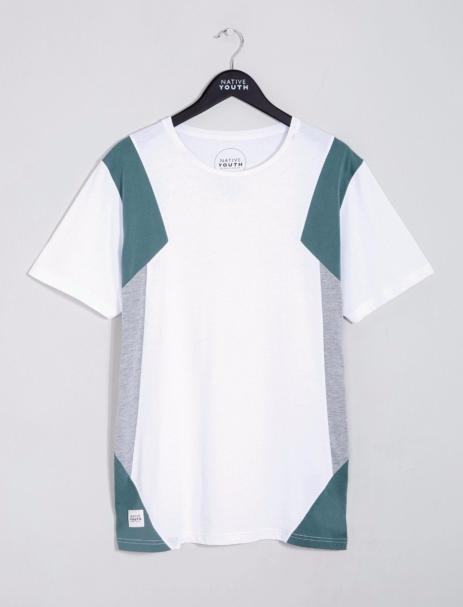 Delaware Colour Block Tee