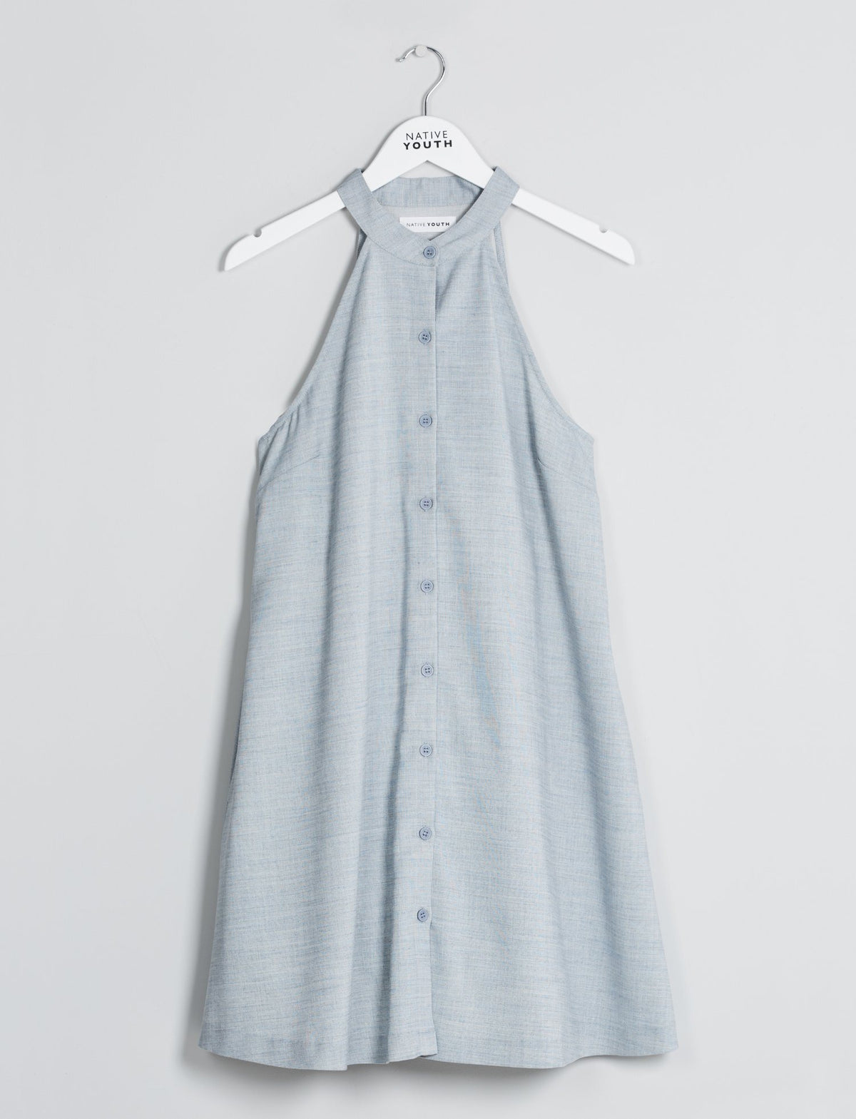 Light Blue Eutrophic Sun Dress