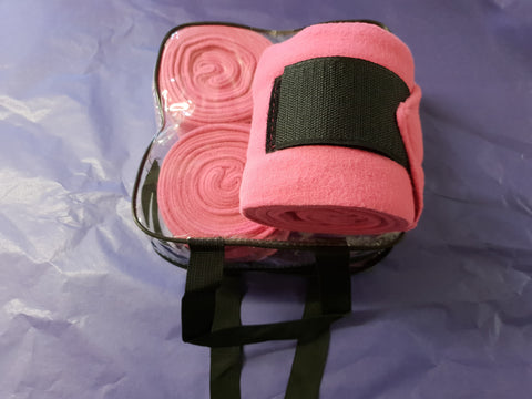 Ex Sample Polo Wrap Bandages - Pink