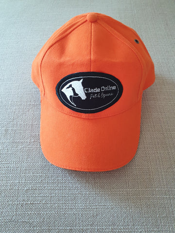 Orange Matchy Sports Cap