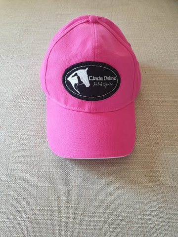 Hot Pink Matchy Sports Cap