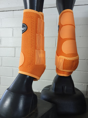 Neoprene Sports Boots - Fluro Orange