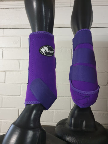 Neoprene Sports Boots - Purple