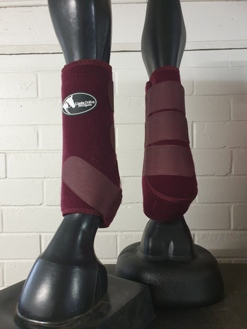 Neoprene Sports Boots - Burgundy