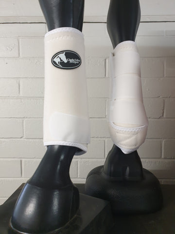 Neoprene Sports Boots - White