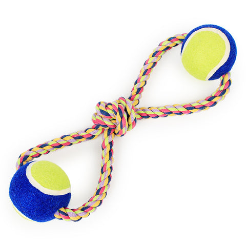 Rope & Ball Tug Toy