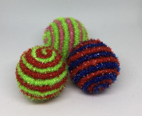 Tinsel Clicker Balls