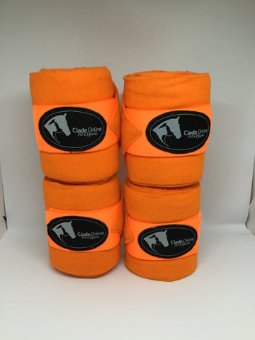 Polo Wrap Bandages - Orange