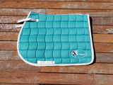 turquoise saddle pad, all purpose saddle pad, saddle blanket, all purpose saddle blanket, turquoise all purpose saddle pad, turquoise all purpose saddle blanket