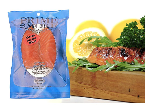 Prime Smoke Cold Smoked Salmon Cutlets – 2 x 90g-Prime Foods NZ