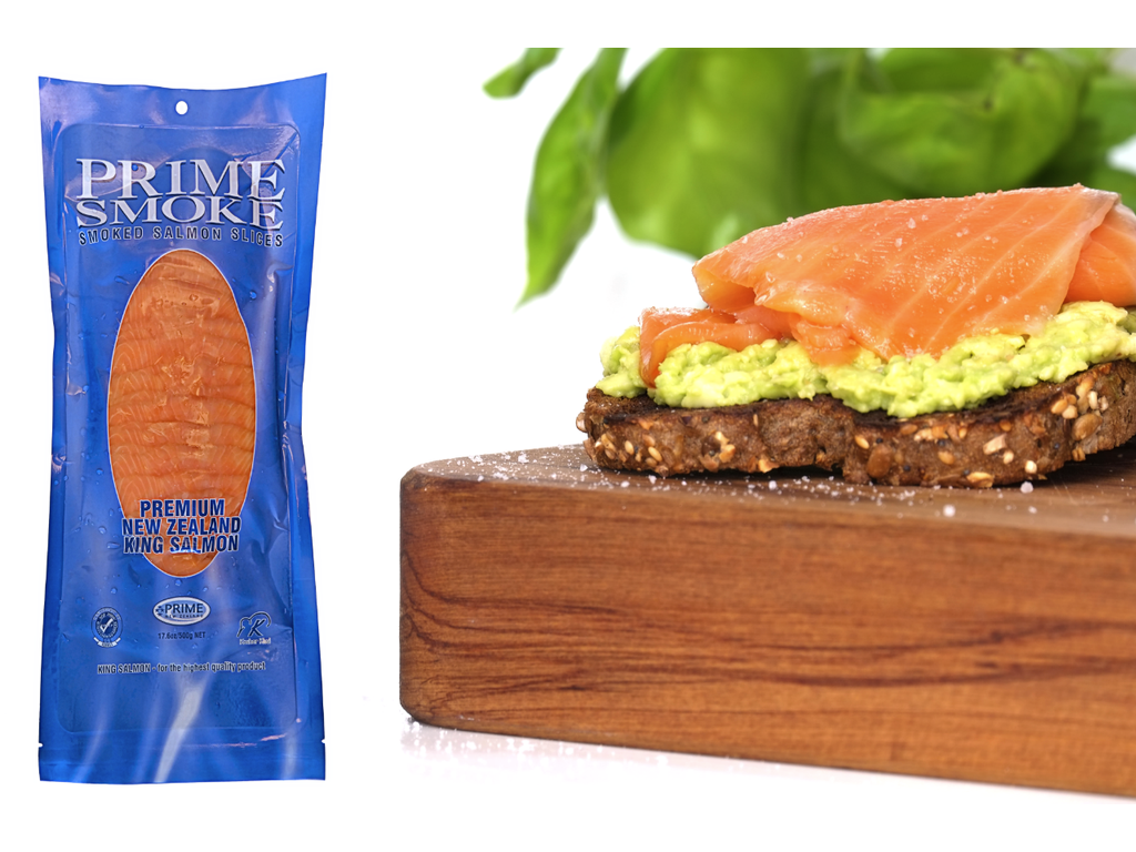 Prime Smoke Premium Cold Smoke Salmon Slices – 500g - PS Pouch