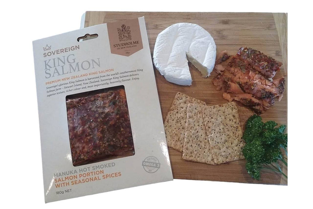 Sovereign Hot Smoked Portion with Seasonal Spices - 180g-Prime Foods NZ