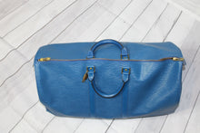Vintage Louis Vuitton Epi Leather Keepall Sz. 50