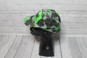 A Bathing Ape Green Bape 5 Panel Camper Hat