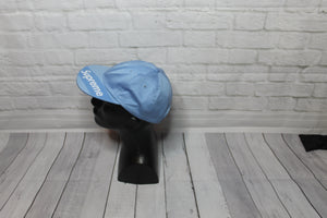 BNWT Supreme Visor Label 6 Panel Dad Hat Light Blue