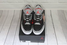 DS Air Jordan Retro 3 Black/Cement