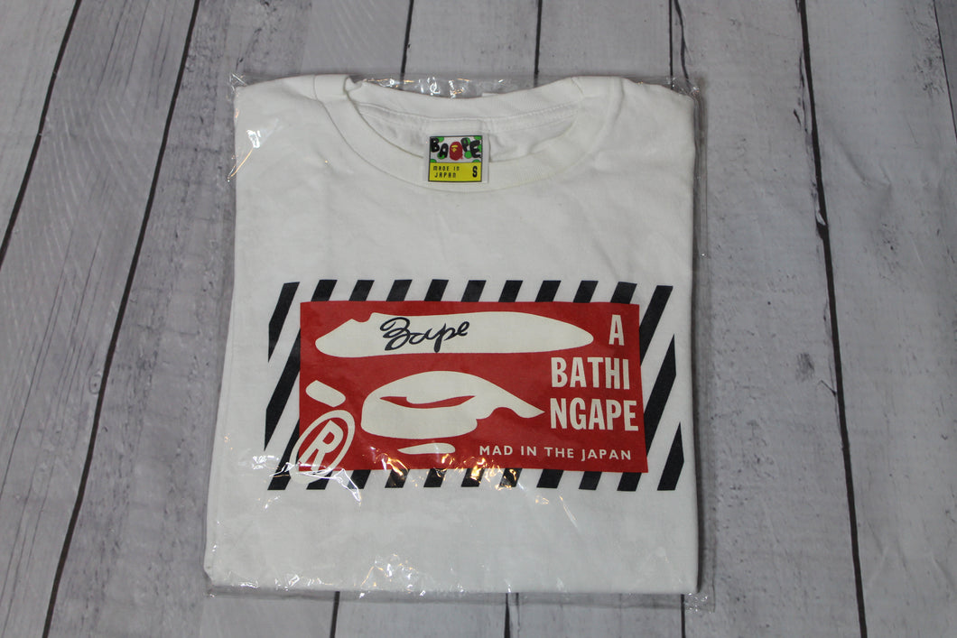 Pre-Owned A Bathing Ape Box Logo Bape Tee