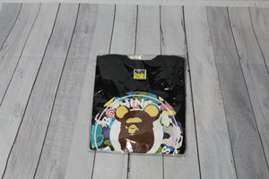 Pre-Owned Bape Be@rbrick Medicom Multi Color Camo Busy Works Tee