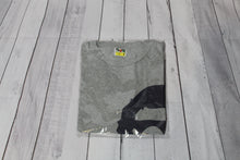 Pre-Owned Bape Side Big Ape Head Tee Grey