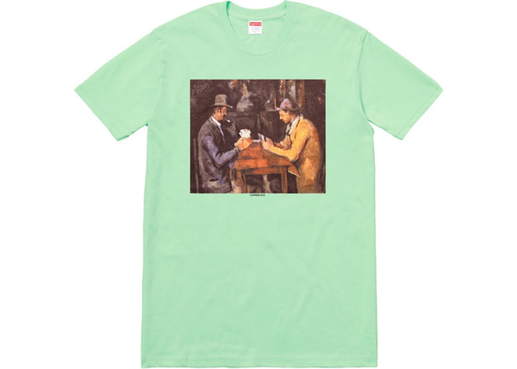 Brand New Supreme Cards Tee Mint