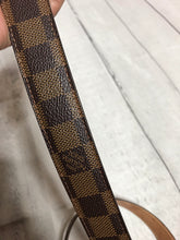 Men's Louis Vuitton Damier Ebene Belt