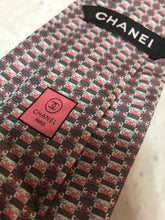 Men's Chanel Logo  Tie