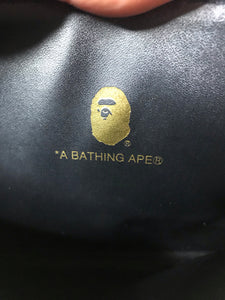 Bape ABC Blue Camo Clutch