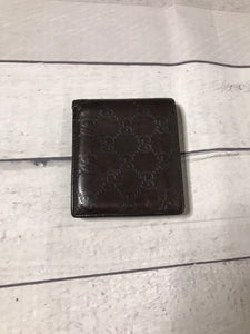 Brown Leather Gucci Wallet