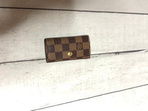 Louis Vuitton Damier Ebene 4 Key Holder