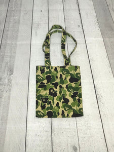 Bape ABC Green Camo Tote Bag Pouch