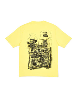 Palace Tri-Wobble Tee (Yellow) Sz. S