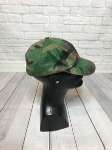 Pre-Owned Supreme Camouflage 6 Panel hat