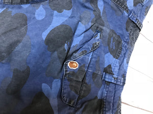 Bape Color Camo Cargo Shorts Sz. L