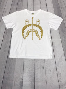 Bape Gold Shark T-Shirt