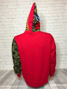 Bape X Hebru Brantley Flyboy Shark Hoodie Sz. L