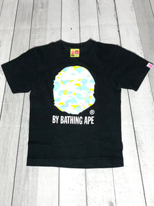Bape Color Camo Ape Head Tee
