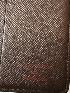 Louis Vuitton Damier Ebene Wallet/Card Holder