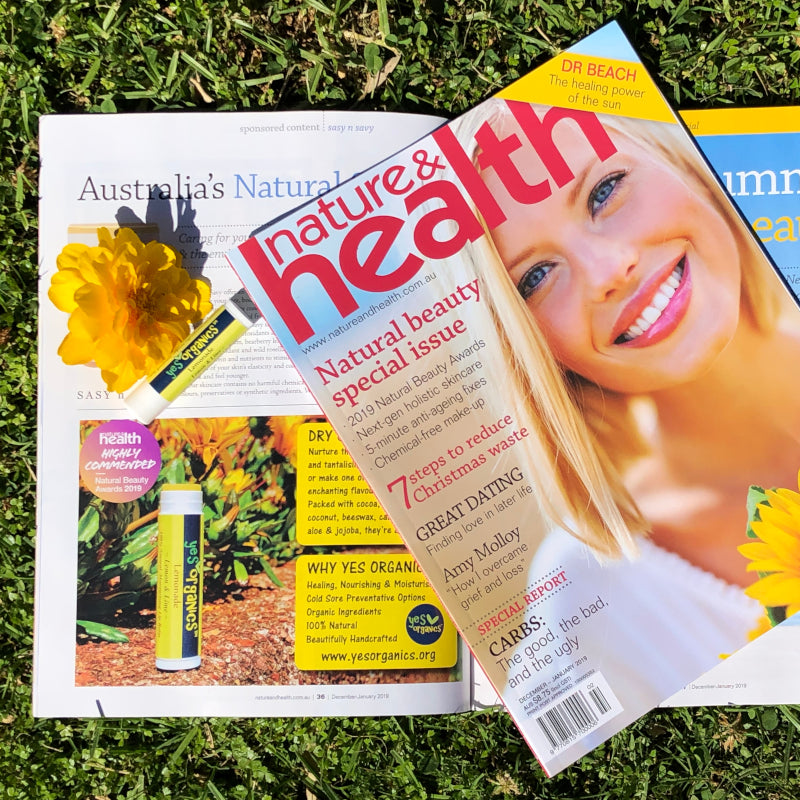 Yes Organics featured in Nature & Health Magazine Australia