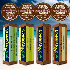 Yes Organics WINS Best Lip Balm & Editor's Choice Awards in Mama & Baby Awards 2020