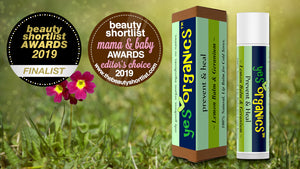 Yes Organics | Cold Sore Treatment Lip Balm | Multi Award-Winning