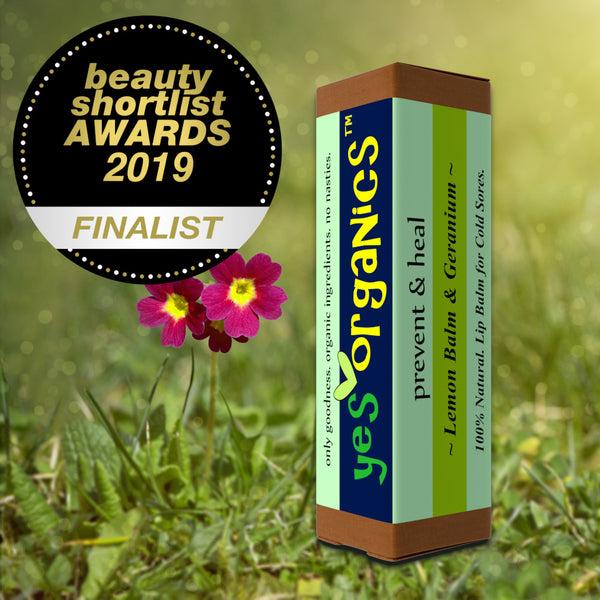 Award- Winning Cold Sore Treatment Lip Balm | Prevent & Heal | Yes Organics