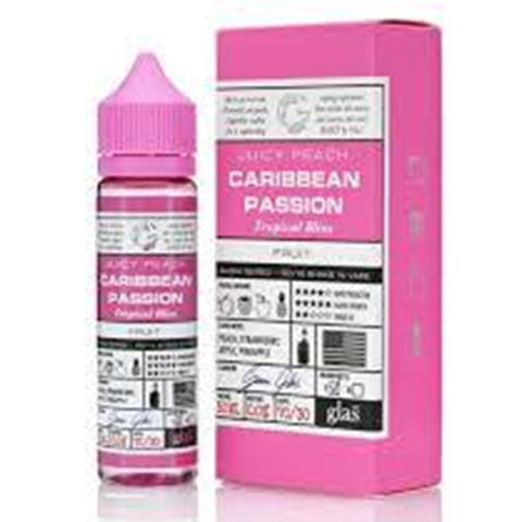 Caribbean Passion Eliquid By Glas Basix 50ml - Valda Vapes