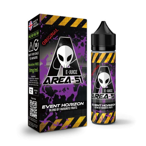 EVENT HORIZON E-LIQUID BY AREA-51
