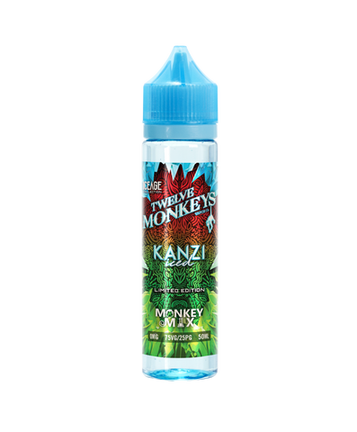 KANZI ICED ELIQUID BY TWELVE MONKEYS 50ML - Valda Vapes