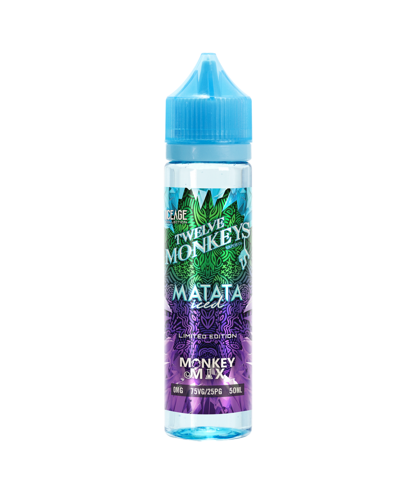 MATATA ICED ELIQUID BY TWELVE MONKEYS 50ML - Valda Vapes