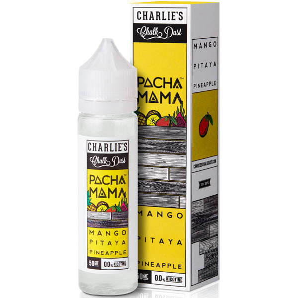 Mango, Pitaya And Pineapple Eliquid By Charlie'S Chalk Dust Pacha Mama - Valda Vapes