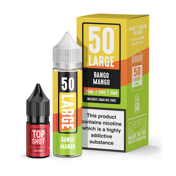 Bango Mango & Top Shot By 50Large 50 ml - Valda Vapes